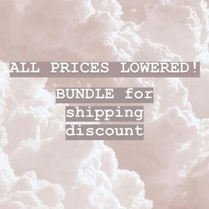 Other - BUNDLES = LOWER OR FREE SHIPPING